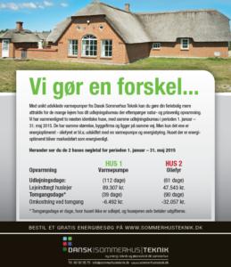 Poolsommerhus-besparelse og ekstra indtjening-Dansk Sommerhus Teknik